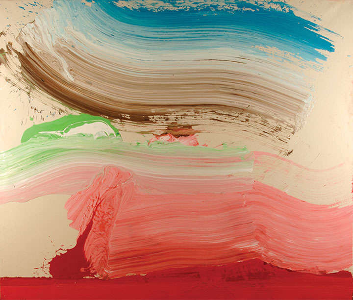 pink wave, 2006, (84x72in)