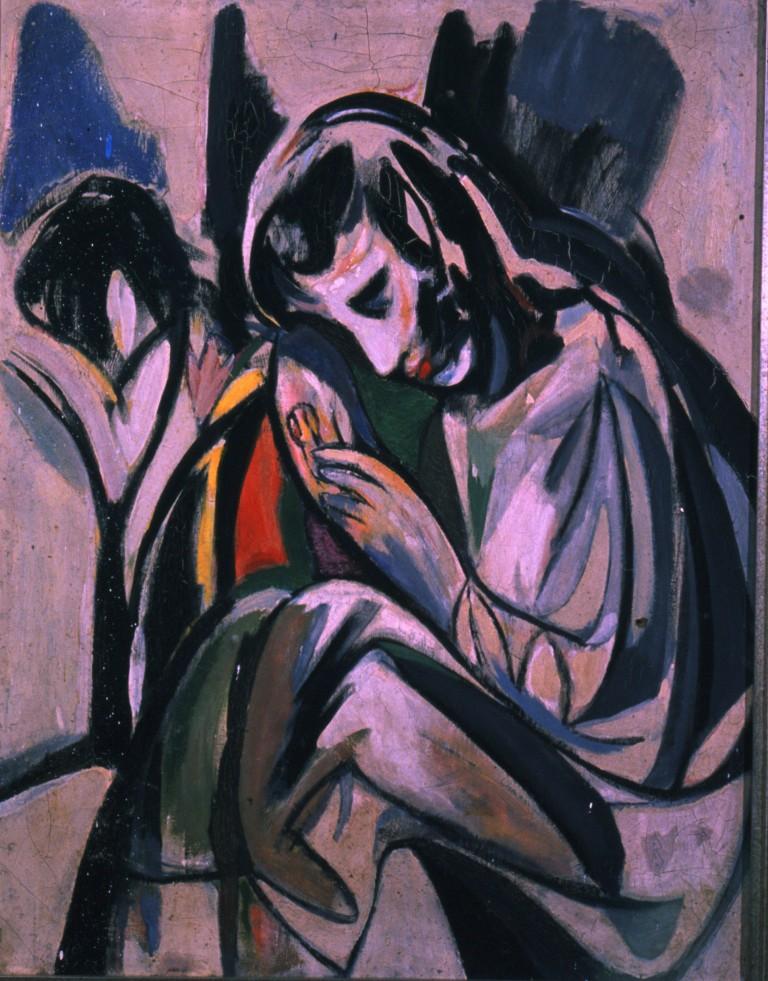 portrait of muriel, 1952 (25.5x20in)