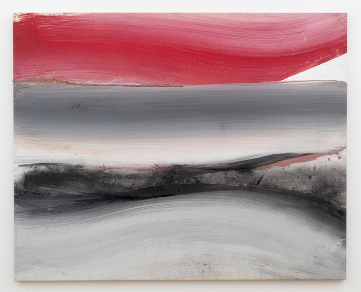 red, 1988 (54x67.5in)