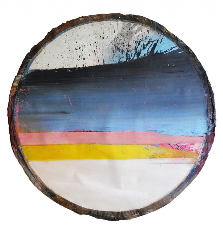 the circle, 1968 (72in diameter)