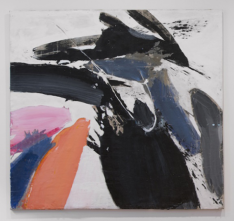 Winter Bitch, 1959, Acrylic on canvas, 77 x 77 inches